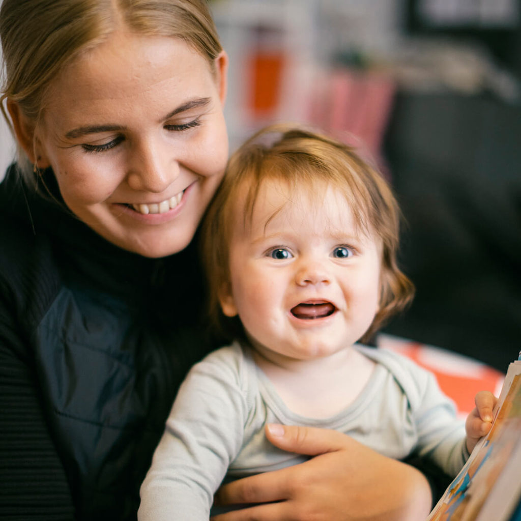 Mor og barn-timer hos Myrens Treningssenter Torshov