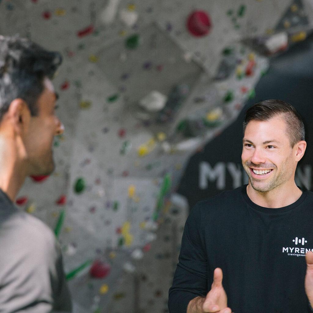 Mental trening hos Myrens treningssenter Torshov