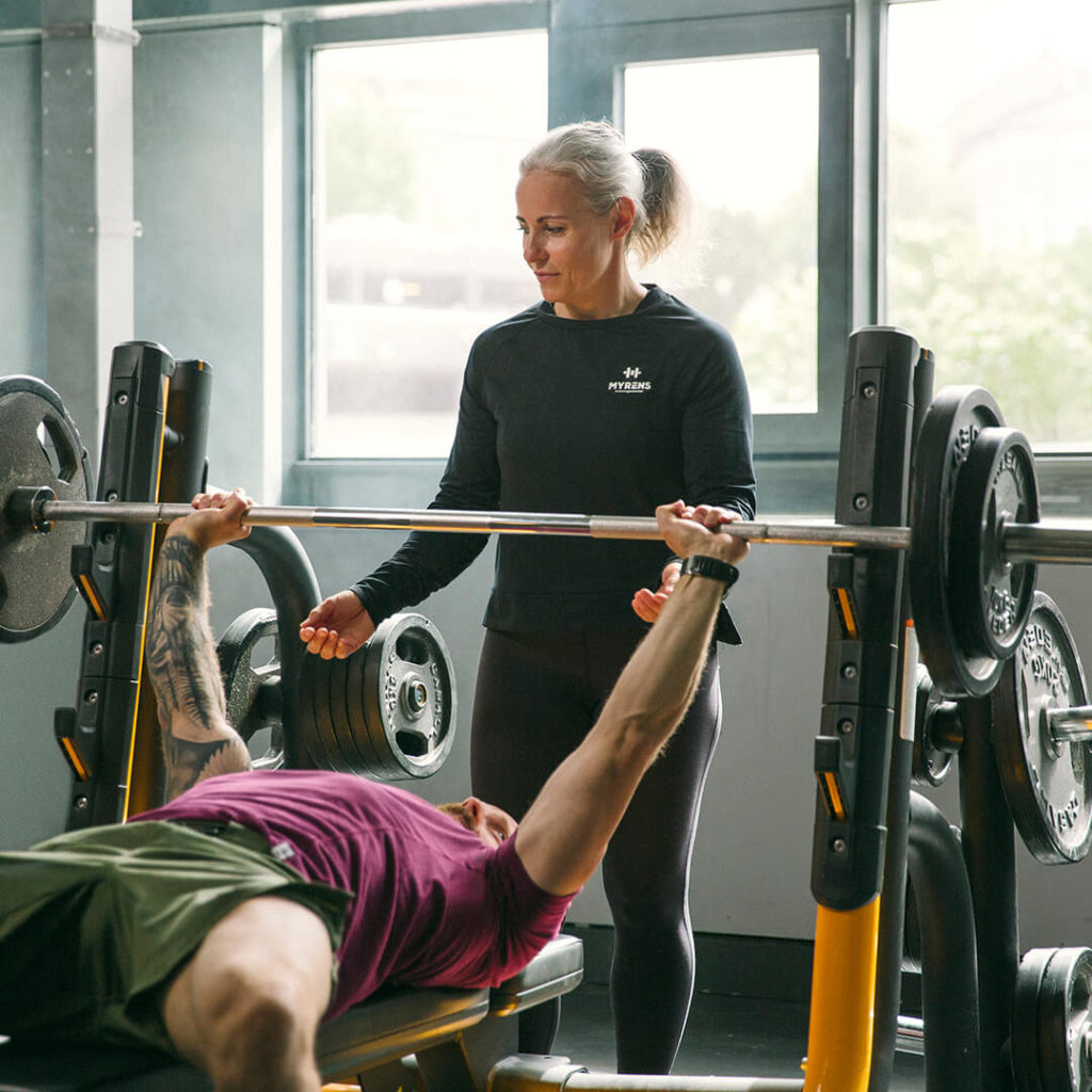 Personlig trening hos Myrens Treningssenter Torshov